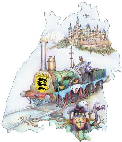 Mit dem Baden-Württemberg-Ticket reisen Sie günstig und entspannt durch ganz Baden-Württemberg.
