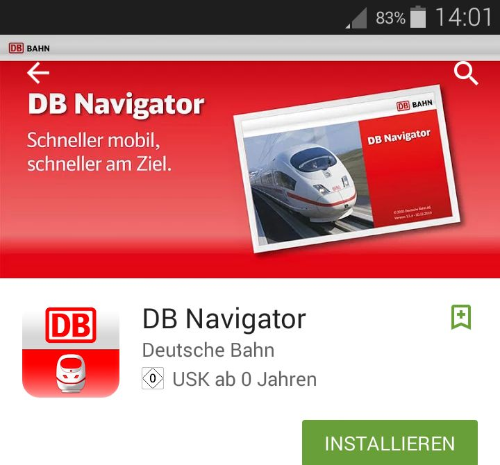 Der DB Navigator ist eine der vielen Bahn-Apps. Für das Bayern-Ticket soll bald eine weitere App hinzukommen.
