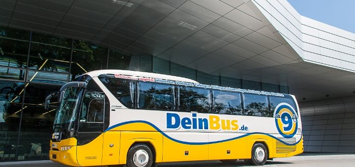 Ein Fernbus von DeinBus.de