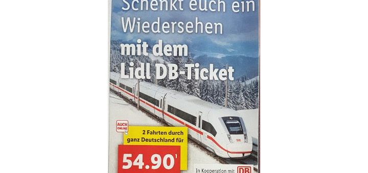 Lidl Bahn Ticket 2018