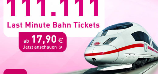L'TUR Last Minute Bahn Tickets