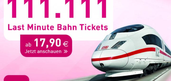 L'TUR Last Minute Bahn Tickets