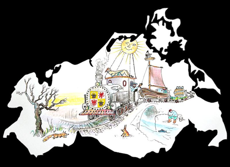 Mit dem Mecklenburg-Vorpommern-Ticket reisen Sie entspannt durch ganz MV und entdecken das Land an der Ostseeküste.