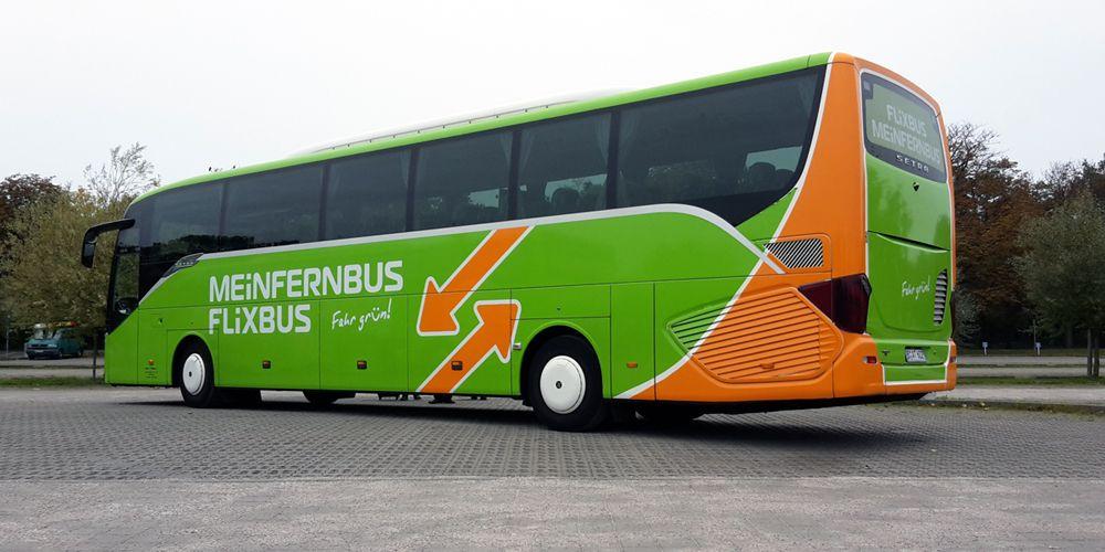 Bild von einem Fernbus vom Anbieter Flixbus