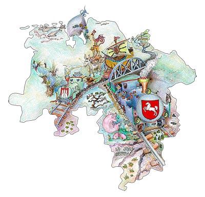 Mit dem Niedersachsenticket reisen Sie entspannt und günstig durch Niedersachsen, Hamburg und Bremen.