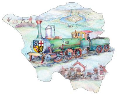Mit dem Saarland-Ticket der Deutschen Bahn sind Sie einen ganzen Tag lang günstig zwischen Saarbrücken und Mainz unterwegs.