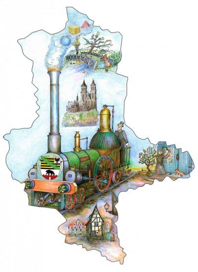 Reisen Sie mit dem Sachsen-Anhalt-Ticket einen ganzen Tag günstig und bequem durch Sachsen-Anhalt.