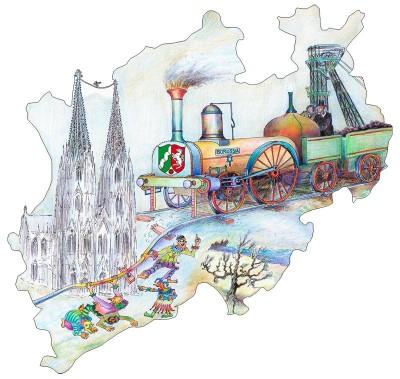 Mit dem SchönerTagTicket NRW reisen Sie einen ganzen Tag lang, bequem und günstig durch Nordrhein-Westfalen.