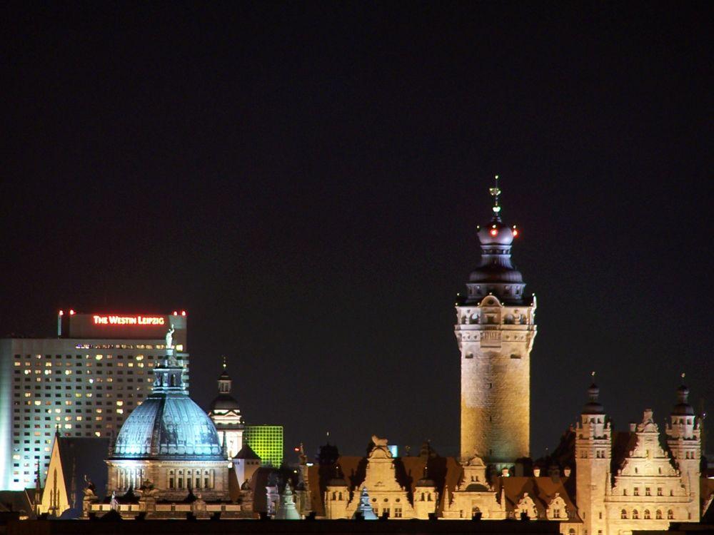 Leipzig hat im Kurzurlaub auch Nachts viel zu bieten.