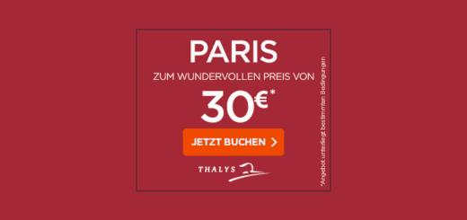 Thalys Bahn Angebot