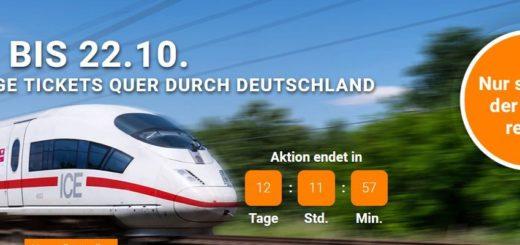 Weg.de Bahntickets können jetzt günstig gebucht werden.