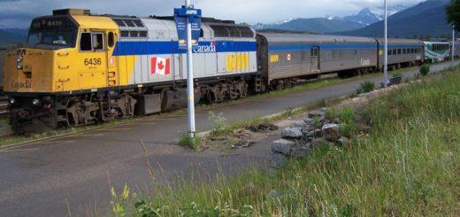 Mit dem Zug durch Kanada reisen.
